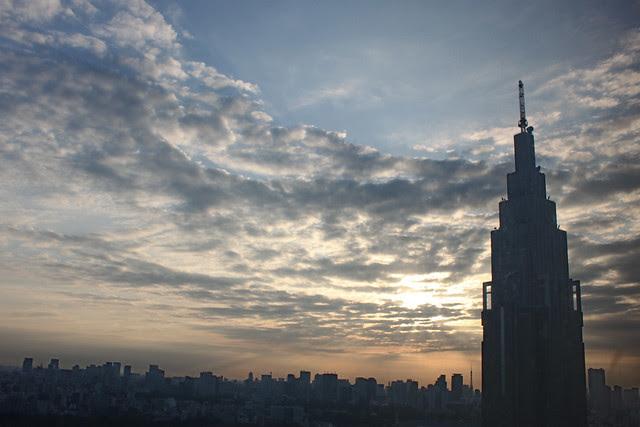 Amanece en Tokyo