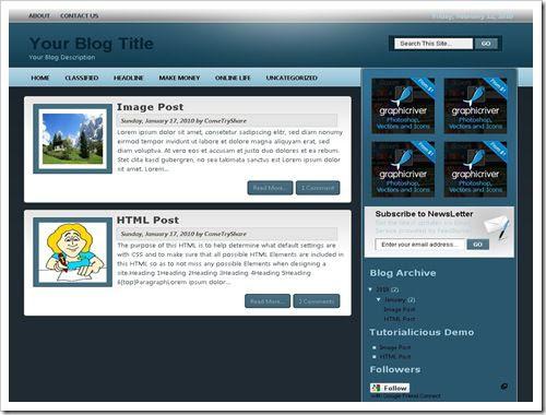 TutorialiciousBloggerTemplate thumb