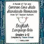 Common Core English Language Arts FREE Back-to-School ebook: Grades 6-12