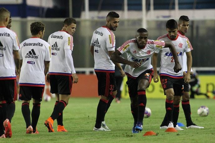 Flamengo Macaé Moacyrzão (Foto: Gilvan de Souza / Flamengo)