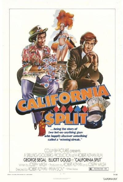 Resultado de imagem para california split 1974 poster