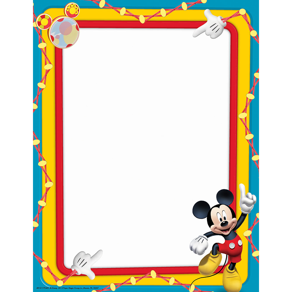 Free Mickey Mouse Border Download Free Clip Art Free Clip Art On