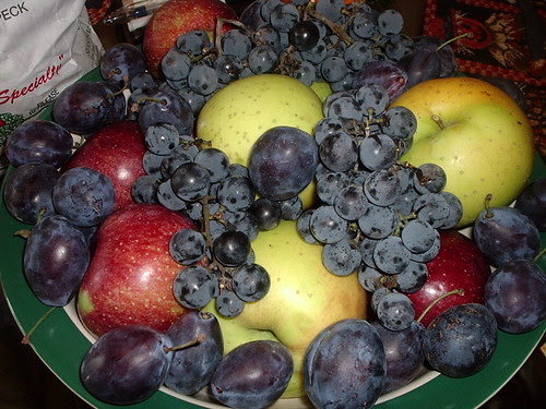 From the apple orchard