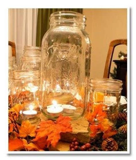 Seven Fall Wedding Centerpieces And Table Decorations