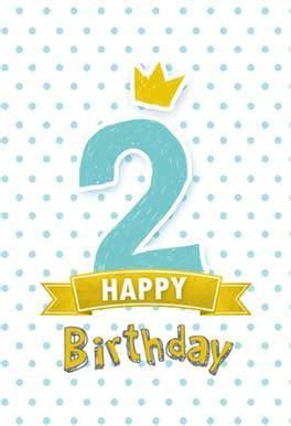 2nd Birthday to a Princess   Free Birthday Card