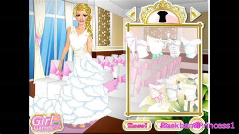 Barbie Wedding Gown Game Barbie Dress Up Game   YouTube