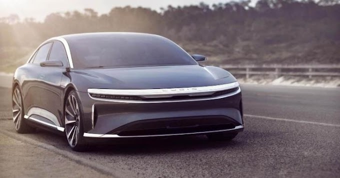 Lucid Air, the electric sedán with 830 kilometers of autonomy, already has an official price