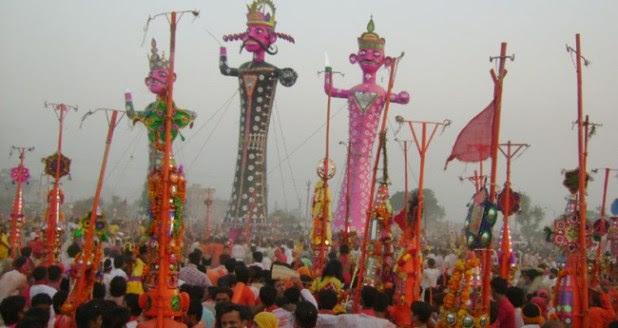 Mesmerizing Views Of Raavan Dahan Happening Across The Country On Vijaydashami
