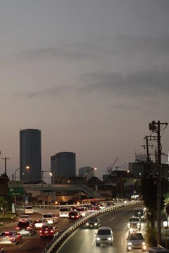View of the tokyo @ Setagaya sunset