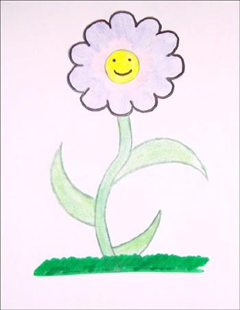 Aprender A Dibujar Dibujar Una Flor Primavera Eshellokidscom