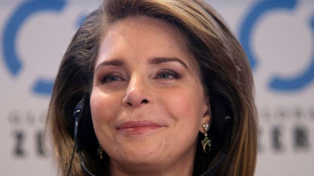 Queen Noor of Jordan attends a meeting at the Global Zero conference in Paris, Thursday February 4th, 2010. Photograph: Photograph: Francois Mori/AP