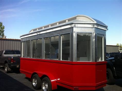 trolley  diner style concession trailers images