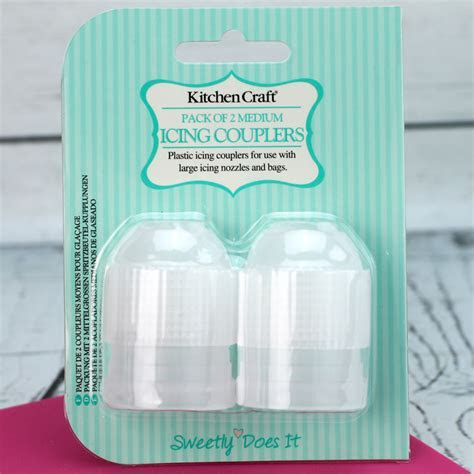 Pack Of 2 Medium Icing Couplers