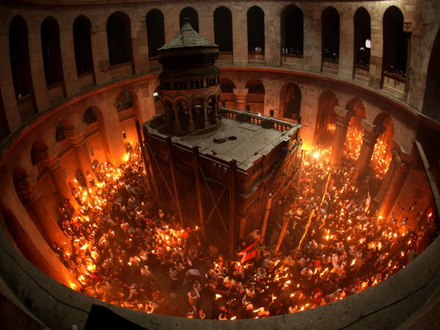Holy-Fire-sepulchre