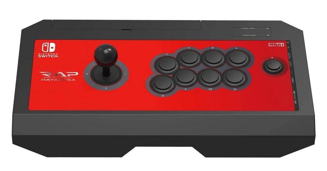 Hori finally confirms its Pro V arcade stick for the Nintendo Switch screenshot