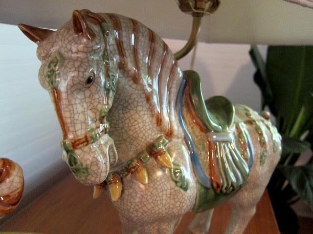 porcelain horse lamps2