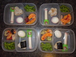 """""""I love that I can pack two days worth of lunches in a snap! I posted this to my home page and even had a friend order the boxes!""""  We love this too!!! Thanks to Jackie for sharing this on our Facebook wall!"""