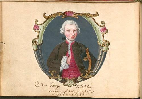 Liber Amicorum - Johann Christian Sigmund Mönch  b