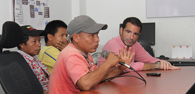 Emberas asentados en Cali reiteran voluntad de retornar a sus tierras
