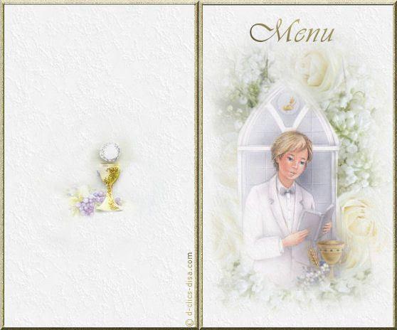 Carte Gratuite Communion à Imprimer