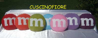 CUSCINO M&M