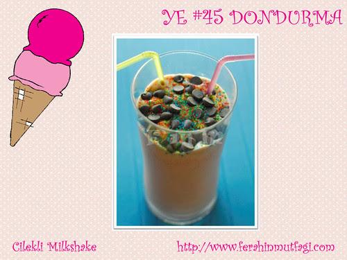 Cilekli Milkshake - Ferahin Mutfagi