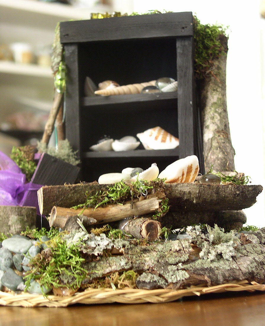 Fairy House Cabinet and Table