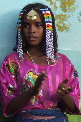 Tigre woman - Festival Eritrea 2006 - Asmara Eritrea.