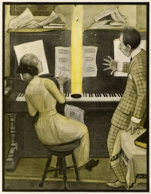 Illustrated children's book : The Rocket Book 1912 i