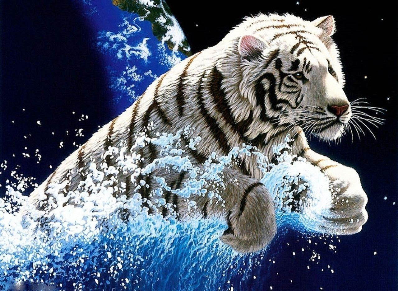 White Tiger Wallpapers Free  Wallpaper Cave