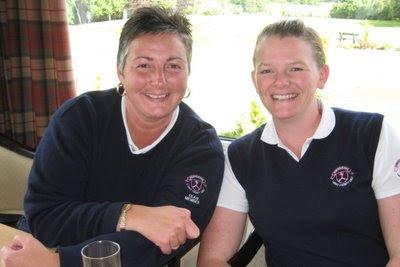 Gillian McGinlay and Sara McCorkell - Click to enlarge