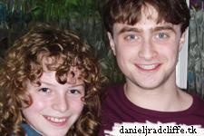 Photo: Dan and young Sirius Black