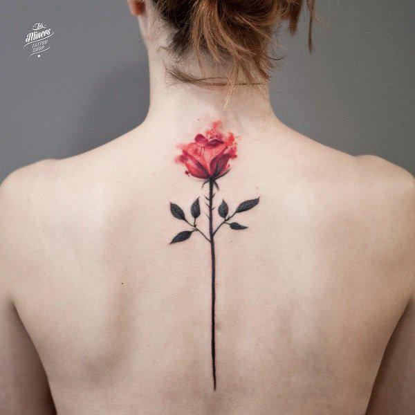 Fastest Music Style Small Rose Tattoos On Back Shoulder