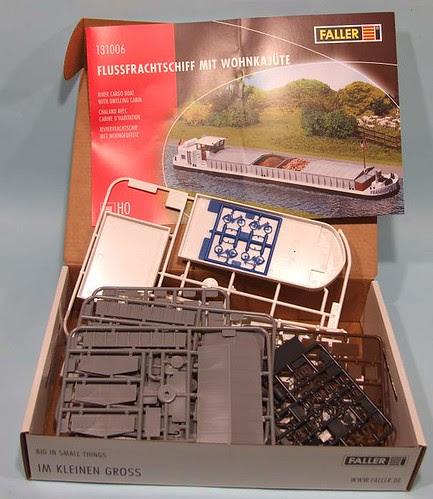 Faller Barge kit