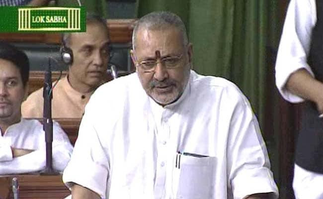 Minister Giriraj Singh Apologises in Parliament for Racist Comments on Sonia Gandhi After Uproar