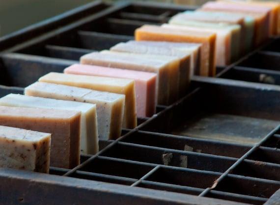 10 Handmade Soaps / Choose Your Own Scents / Cold Process Soap / Bulk Soap / Portland, Oregon