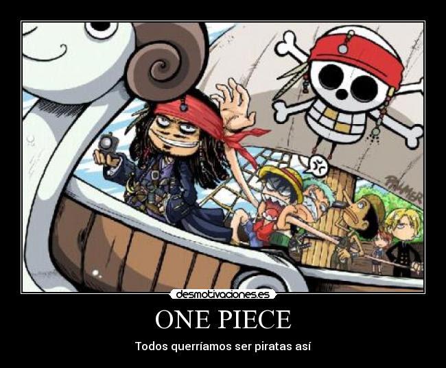 One Piece Desmotivaciones