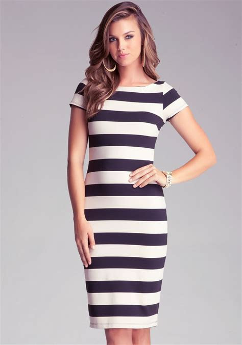 Striped Midi Dress Styling Ideas for Women ? Designers