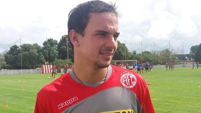 Alan Silva lateral América-RN (Foto: Canindé Pereira/Divulgação)