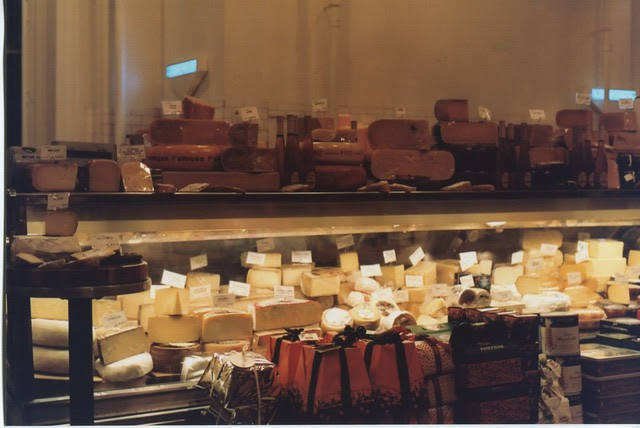 Dean & Deluca cheese section