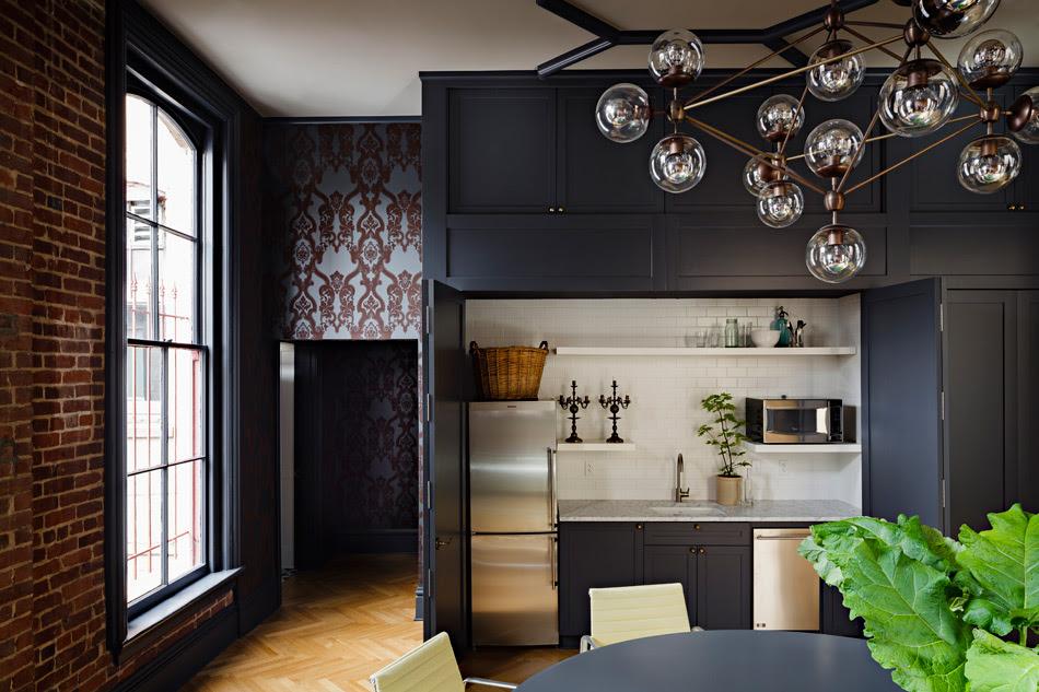 Jessica Helgerson Interior Design Gothic Office 11