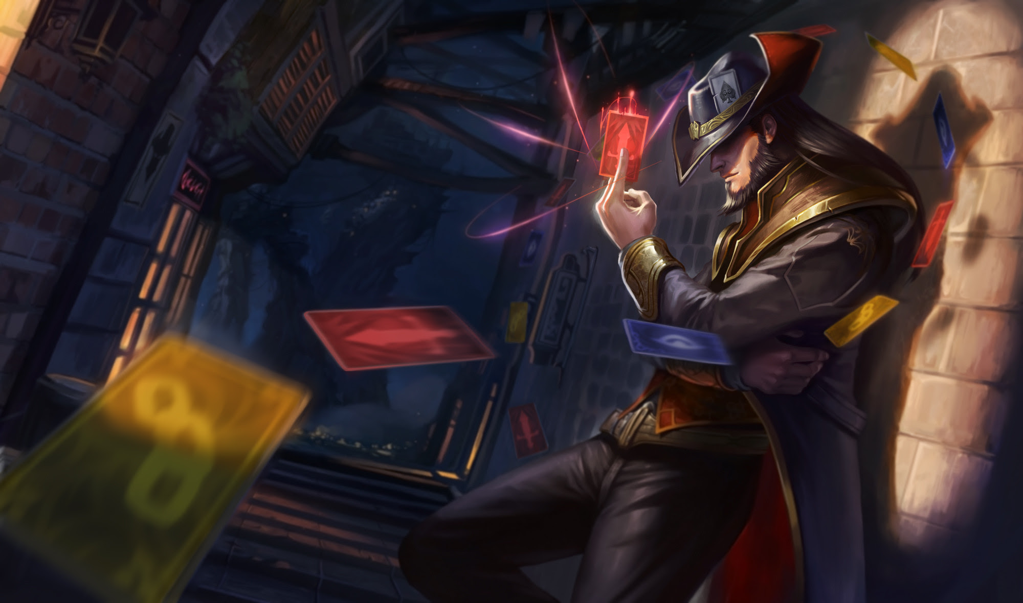 Twisted Fate Wallpaper Hd 84 Images