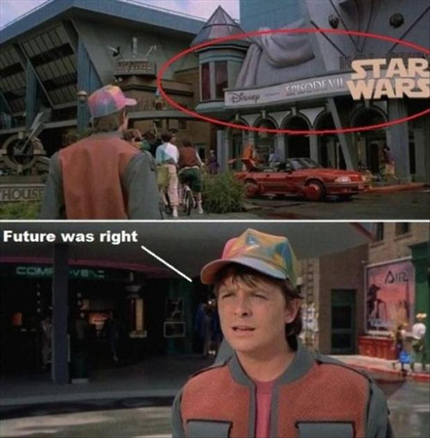 Disney Star Wars Back To The Future Dump A Day