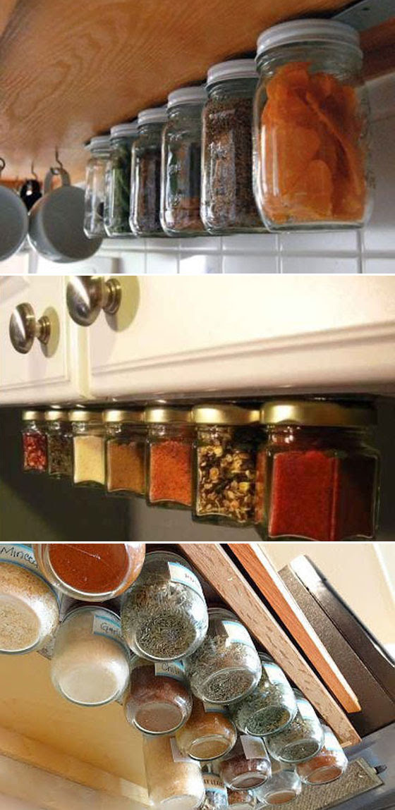15 Cool Uses of Space Between Countertop and Wall Cabinet ...