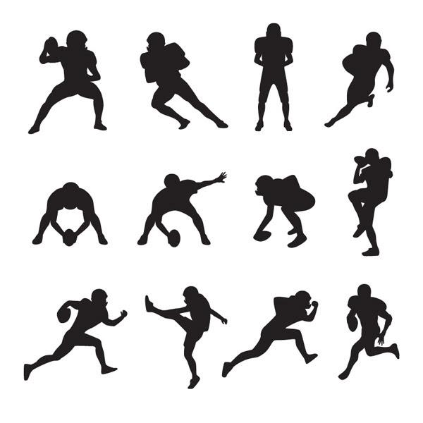 Sketsa Pemain Sepak Bola Orang Orang Vektor Vektor Gratis Download