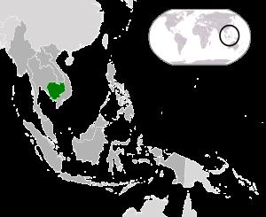 Cambodia (dark green) / ASEAN (dark grey)