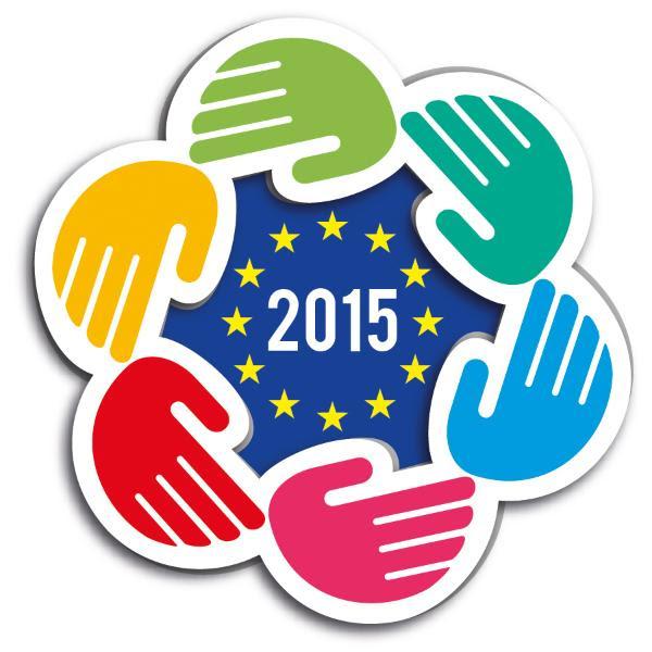 Logo de la edición de 2015 del Premio Europeo Carlomagno de la Juventud.