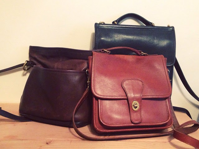 COLLECTION • Vintage Coach Bags.