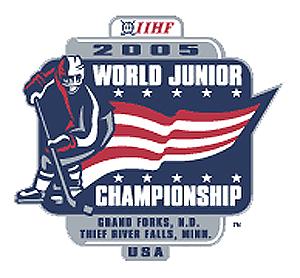 2005 Wolrd Juniors logo, 2005 Wolrd Juniors logo