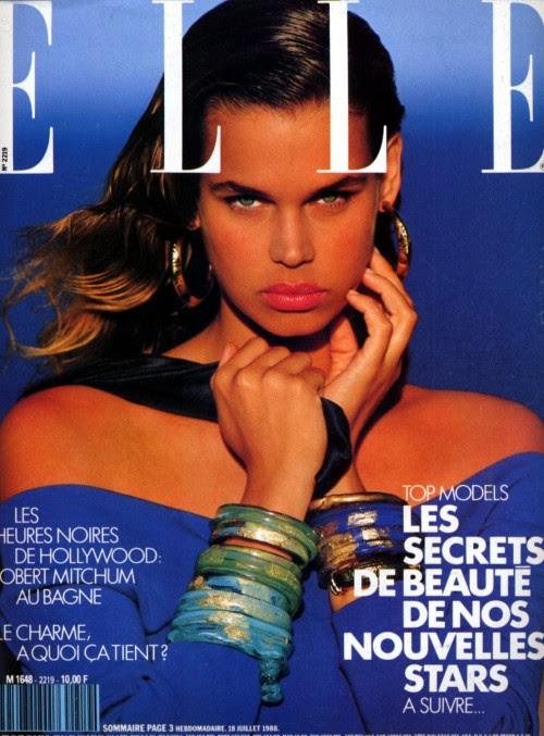 Elle France, July 1988Model: Robyn Mackintosh